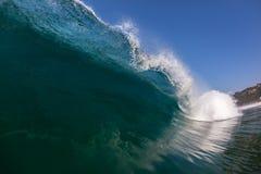 Wave Crashing Blue Sea Water Royalty Free Stock Photo
