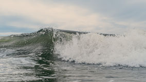 Wave crashing. A crashing wave in the ocean Stock Photography
