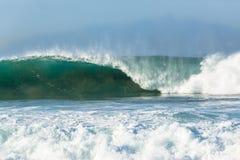 Wave Crashing Ocean Power Stock Photo