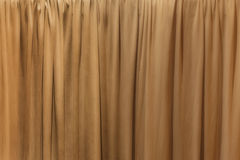Wave Curtain Cloth Fabric Wall Background Texture. Royalty Free Stock Photo
