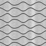 Wave 3D seamless texture Royalty Free Stock Images