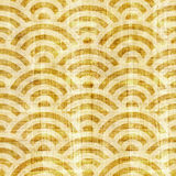 Wave decorative paneling - seamless pattern - papyrus surface Royalty Free Stock Photos