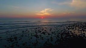 Wave del sol levante III archivi video