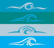 Wave Design Evolution Royalty Free Stock Photos