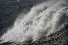 Wave detail. Detailed image of a big breaking wave Stock Photos