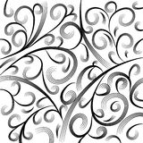 Wave Engraving Background Royalty Free Stock Image