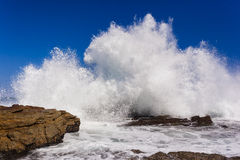 Wave Exploding Water Stock Photography