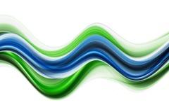 wave för designecoillustration Royaltyfri Fotografi