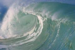 wave för fjärdhawaii waimea Royaltyfria Bilder