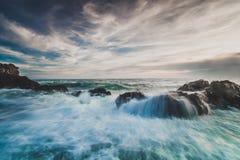 wave för hav s Fotografering för Bildbyråer