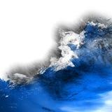 wave för tungt hav för kraschar vektor illustrationer