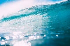 wave för vatten för sun för bakgrundsingreppshav Klart vatten- och solljus Arkivbild