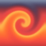 Wave of Fire. Tidal Wave in a fire storm Royalty Free Stock Photos