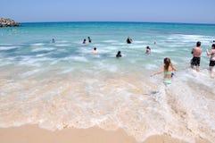Wave Foam: Cottesloe Beach stock images