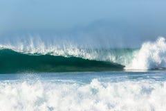 Wave Hollow Crashing Power Royalty Free Stock Images