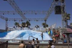 Wave House, San Diego, California stock photography