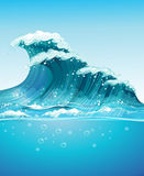 Wave royalty free illustration