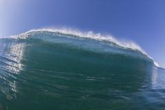 Wave Inside Blue Stock Photography