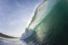 Wave Inside Color Stock Image