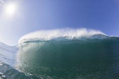 Wave Inside Crashing royalty free stock photography