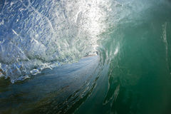 Wave Inside Hollow Crashing Royalty Free Stock Photos