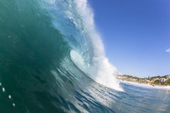 Wave Inside Ocean Royalty Free Stock Images