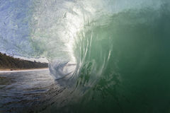 Wave Inside Power Stock Image
