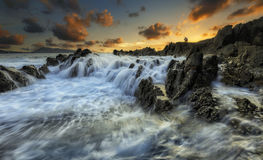 Wave Kalim evening Stock Image