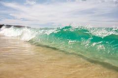 Wave on Karon Beach in Phuket, Thailand Royalty Free Stock Photo