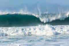 Wave Large Crashing Ocean Power Royalty Free Stock Photo