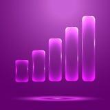 Wave level Stock Image