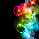 Wave of lights - Business Wallpaper Stock Images