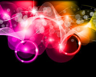 Wave of lights - Business Wallpaper Stock Image