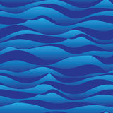 Wave line up down blue seamless pattern royalty free illustration