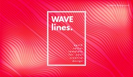 Abstract Wave Background. royalty free illustration