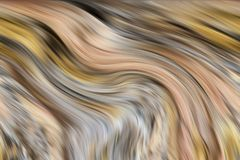 Wave lines, soft colorful abstract background, fantasy. Abstract waves like shapes background in soft yellow gray brown pastel hues. Abstract lines texture in stock illustration