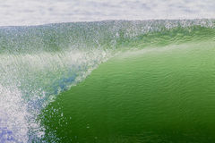 Wave Lip Hollow Rolling  Royalty Free Stock Photo