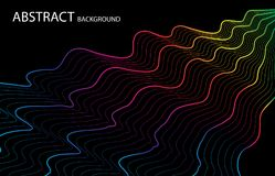 Wave of the many colored lines.