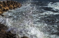 Wave of Marina di Pisa Royalty Free Stock Photo