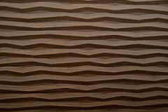 Wave modern wood texture. Abstract background of wave modern wood texture closeup Stock Photography