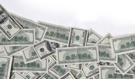 Wave of money Stock Photography