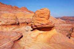 Wave, monumento nazionale delle scogliere di Vermilion, Arizona, U.S.A. Fotografie Stock Libere da Diritti