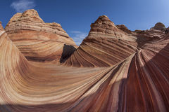 The Wave. Near Coyote Buttes in Utah Royalty Free Stock Image