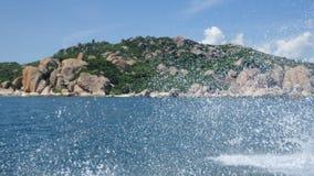 Wave nell'oceano Fotografia Stock Libera da Diritti