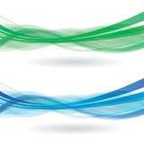 Wave obietta 3d Fotografia Stock Libera da Diritti