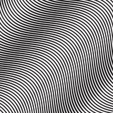 Wave Oblique Smooth Lines Pattern in Vector. EPS 10 Royalty Free Stock Images