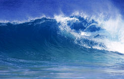 Wave in ocean Stock Photos