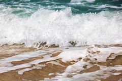 Wave on the ocean Stock Photo