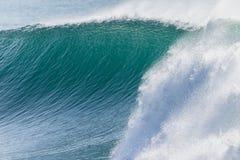 Wave Ocean Crashing Closeup Detail Stock Image