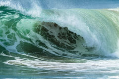 Wave Ocean Crashing Closeup Detail Royalty Free Stock Photography